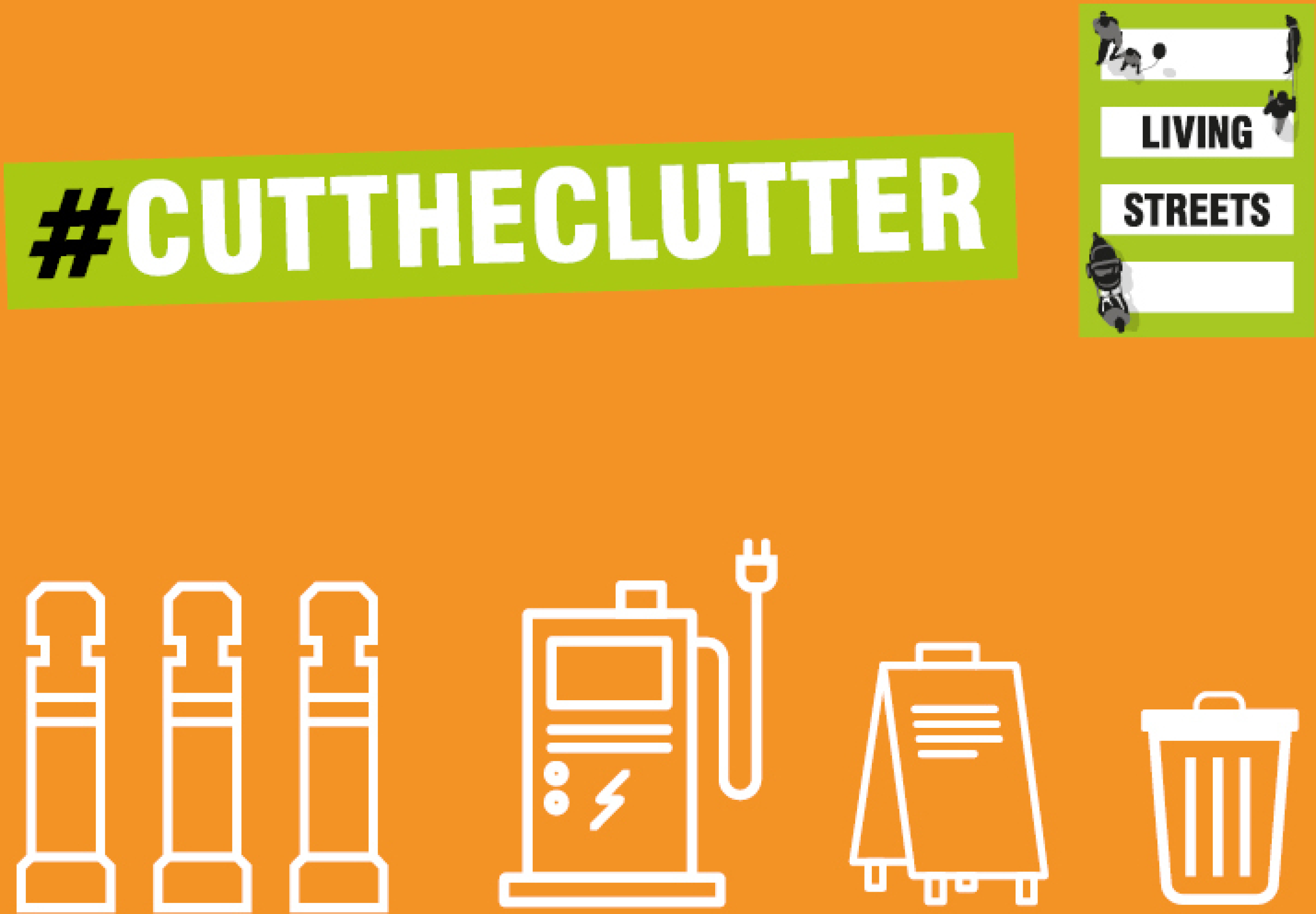 Living Streets Cut The Clutter Week Of Action – map your clutter